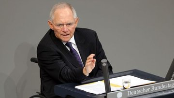 Almanya/Schaeuble: Kesinlikle bir euro krizinden bahsetme...