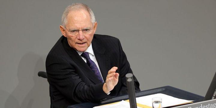 Almanya/Schaeuble: Kesinlikle bir euro krizinden bahsetmeye gerek yok