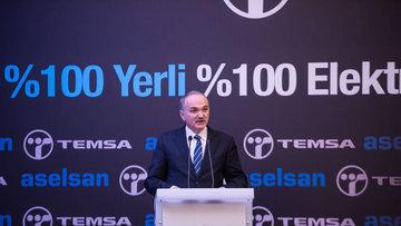 Türkiye'nin ilk yüzde 100 yerli elektrikli otobüsü yola ç...