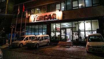 Yeniçağ gazetesine saldırı düzenlendi