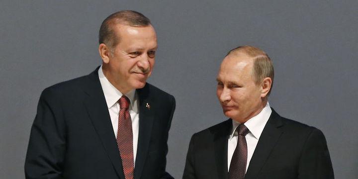 Erdoğan Putin ile telefonda Suriye