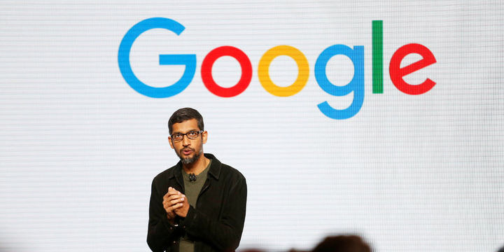 Google CEO'su Sundar Pichai Google