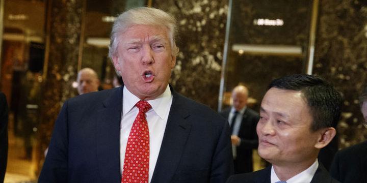 Trump Çinli e-ticaret devi Alibaba