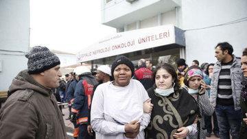 Şişli Hamidiye Etfal Hastanesinde yangın