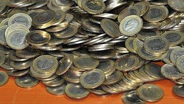 Piyasadaki bozuk para 2 milyar 87 milyon lirayı buldu
