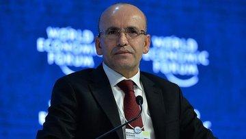 Başbakan Yardımcısı Şimşek Davos'a gitti