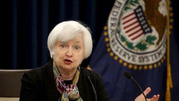 Fed/Yellen: Ekonomi hedeflerine yakın, kademeli faiz artı...