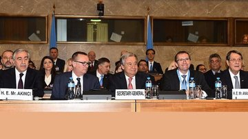 'Kıbrıs müzakereleri olumlu bir havada geçti'