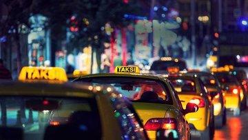 Taksilerde indi-bindi ücreti ile en kısa mesafe 8 lira 75...