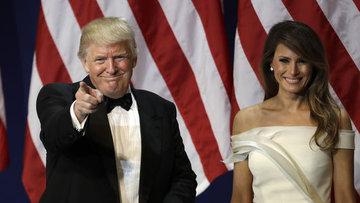 """""""ABD'nin en yaşlı başkanı"""" işbaşı yaptı"""