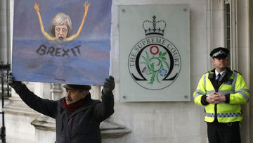 İngiltere Yüksek Mahkemesi: Brexit sürecini parlamento ba...
