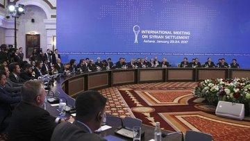 """Astana'daki toplantıda """"ateşkesi izleme"""" konusunda uzlaşıldı"""