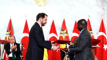 Türkiye ile Mozambik arasında farklı alanlarda anlaşma sa...