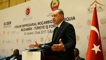 Erdoğan: Biz Afrika'yı kimlerin sömürdüğünü gayet iyi bil...