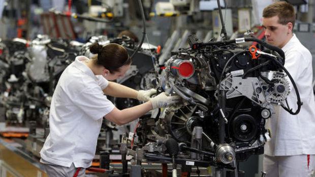 Almanya'da fabrika siparişleri Aralık'ta 2 buçuk yılın zirvesine tırmandı