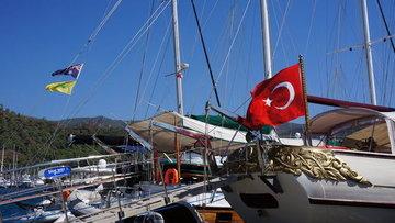 Türk bayrağı taşımayan yatların Türkiye'de kalış süresi s...