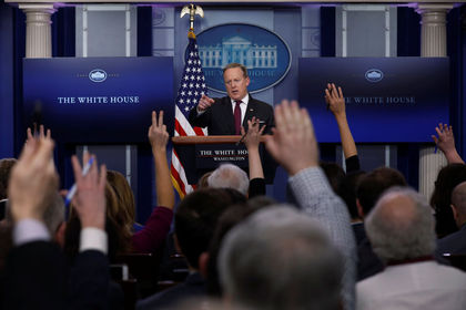 Beyaz Saray'dan bazı medya kuruluşlarına giriş ...