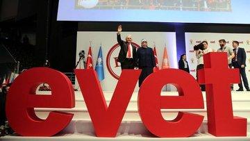 AK Parti referandum startını verdi