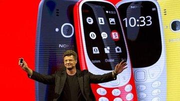 Efsane Nokia 3310'un tanıtımı yapıldı