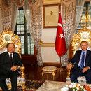 Erdoğan IKBY Başkanı Barzani'yi kabul etti