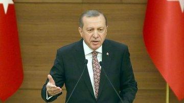 Erdoğan: (TSK haberi) Burada yapılan terbiyesizliktir