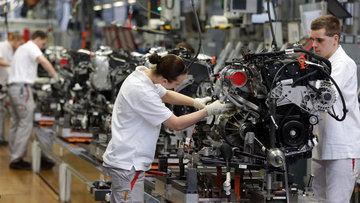 Almanya'da sanayi üretimi Ocak'ta yükseldi