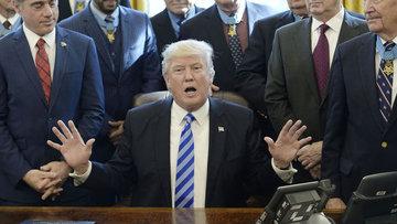 """Trump'tan """"geri çekilen sağlık yasa tasarısı"""" yorumu"""