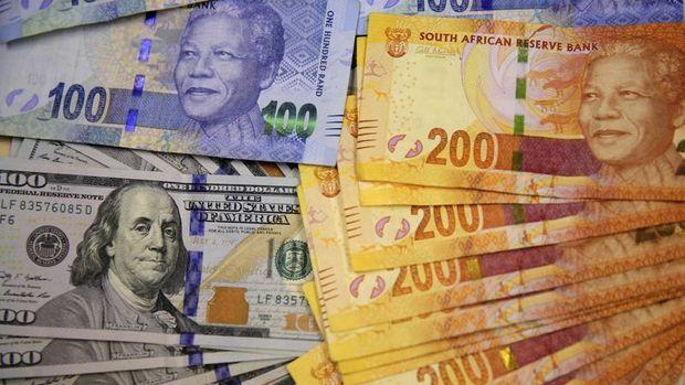 Güney Afrika randında sert düşüş