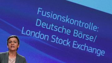 Londra Borsası ve Deutsche Börse birleşmesine izin verilmedi