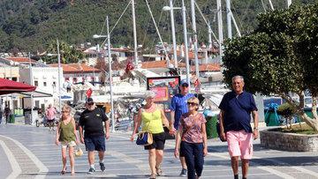 Yabancı ziyaretçi sayısı Şubat'ta %6.5 azaldı