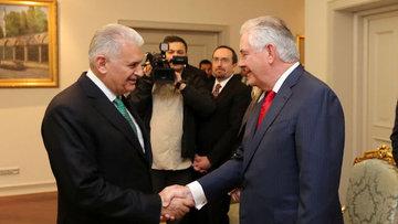 Yıldırım-Tillerson görüşmesinde DEAŞ ve FETÖ ele alındı