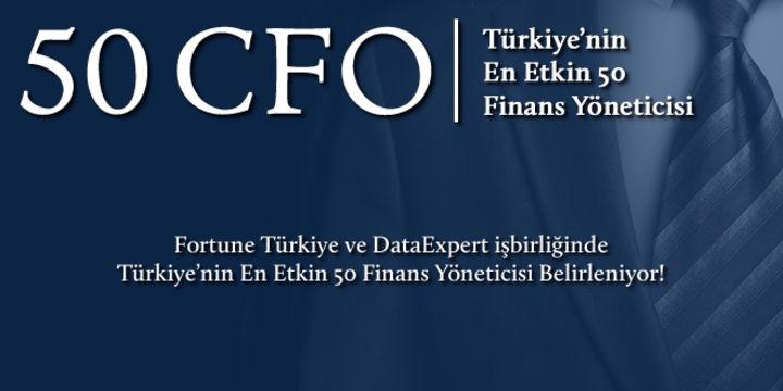 Türkiye'nin En Güçlü 50 CFO'su Belirleniyor