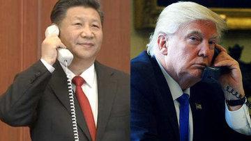 Xi ve Trump telefonda Kuzey Kore'yi görüştü