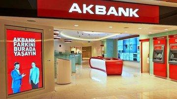 Akbank'ın 1. çeyrek net karı 1.4 milyar TL olarak gerçekl...