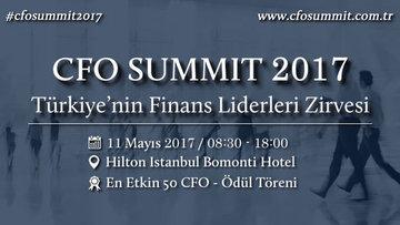 İş dünyası ve finans liderleri CFO Zirvesi'nde buluşuyor