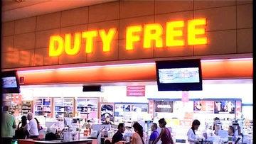 Yolcu sayısı düştü, free shop gelirleri azaldı