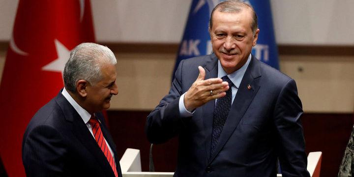 Erdoğan ve Yıldırım Beştepe