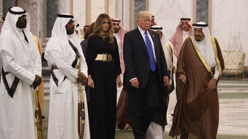 Trump ilk yurt dışı gezisini Suudi Arabistan'a gerçekleşt...