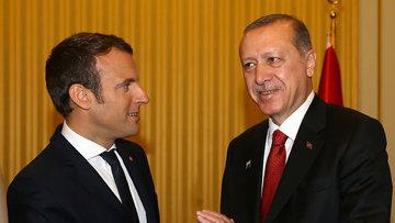 Erdoğan Macron ve AB liderleriyle görüştü