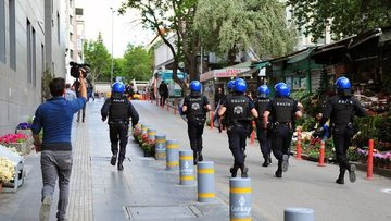 Ankara'da gün batımından sonra eylem yasağı