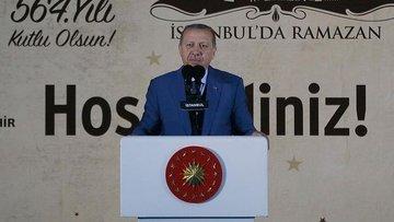 Erdoğan: İstanbul Türkiye'nin özetidir