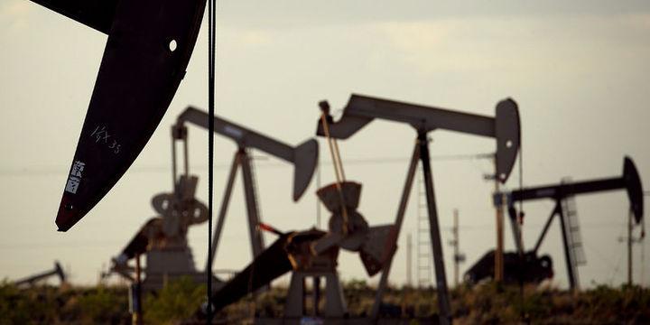 Petrol ABD üretimine ilişkin endişelerle 45 doların altında