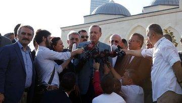 Cumhurbaşkanı Erdoğan kısa süreli bir rahatsızlık geçirdi