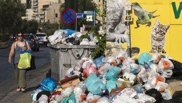 "Yunanistan'da ""çöp krizi"""
