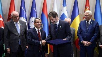 KEİ 36. Dışişleri Bakanları Konseyi Toplantısı İstanbul'd...