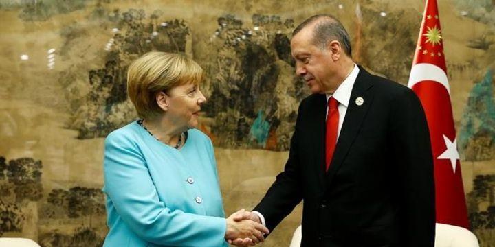 Cumhurbaşkanı Erdoğan Almanya Başbakanı Merkel ile görüşecek