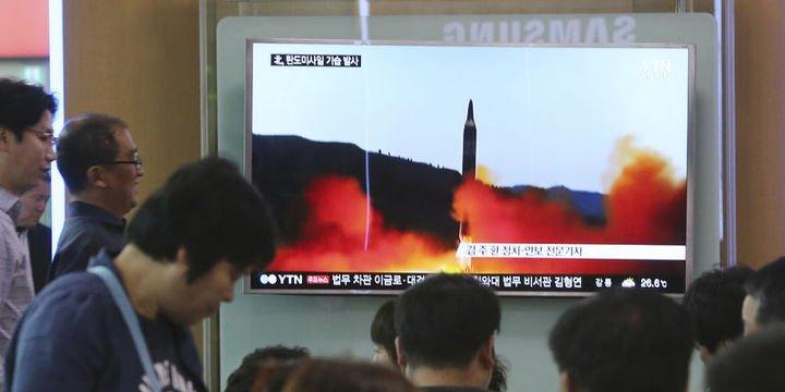 ABD: Kuzey Kore bu tip bir füzeyi ilk kez deniyor