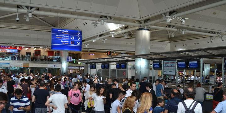 Yılın ilk yarısında toplam yolcu trafiği 84.2 milyon oldu