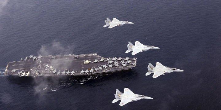 ABD bombardıman uçakları Kore Yarımadası
