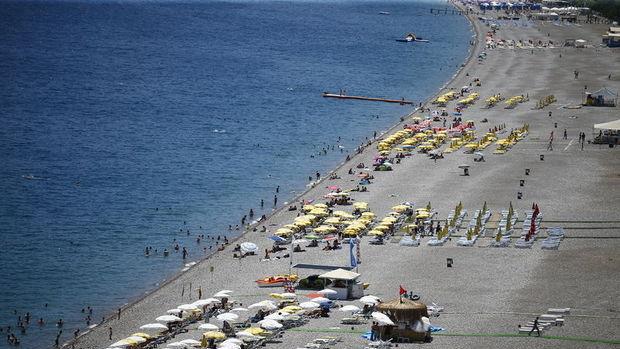 Türkiye'ye gelen yabancı turist sayısı % 5.5 arttı